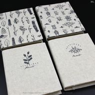Nature park-book journal notebook-256 page-flax dusk jacket