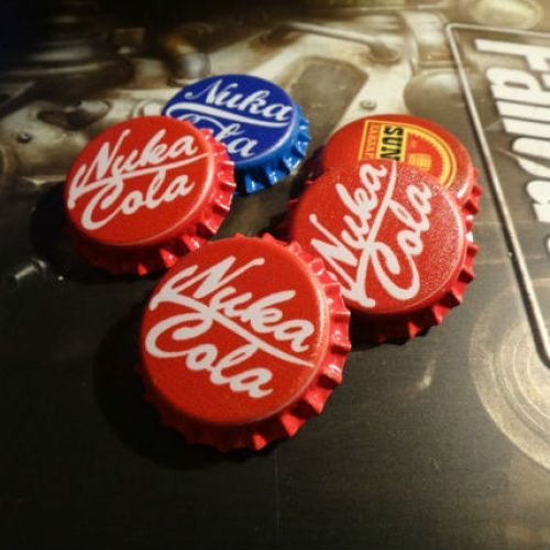 (affiliate link) GAMING :: Fallout Bottle Caps - Shut Up And Take My Money Store!