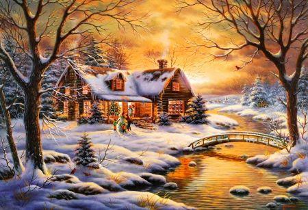 Glow in winter - Other Wallpaper ID 1250427 - Desktop Nexus Abstract