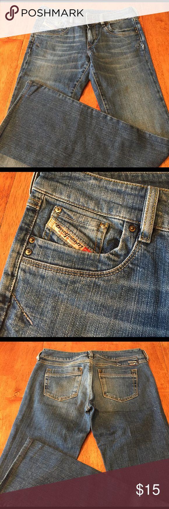 Diesel boot cut jeans Weathered Diesel boot cut jeans, size 28 Diesel Jeans Boot Cut