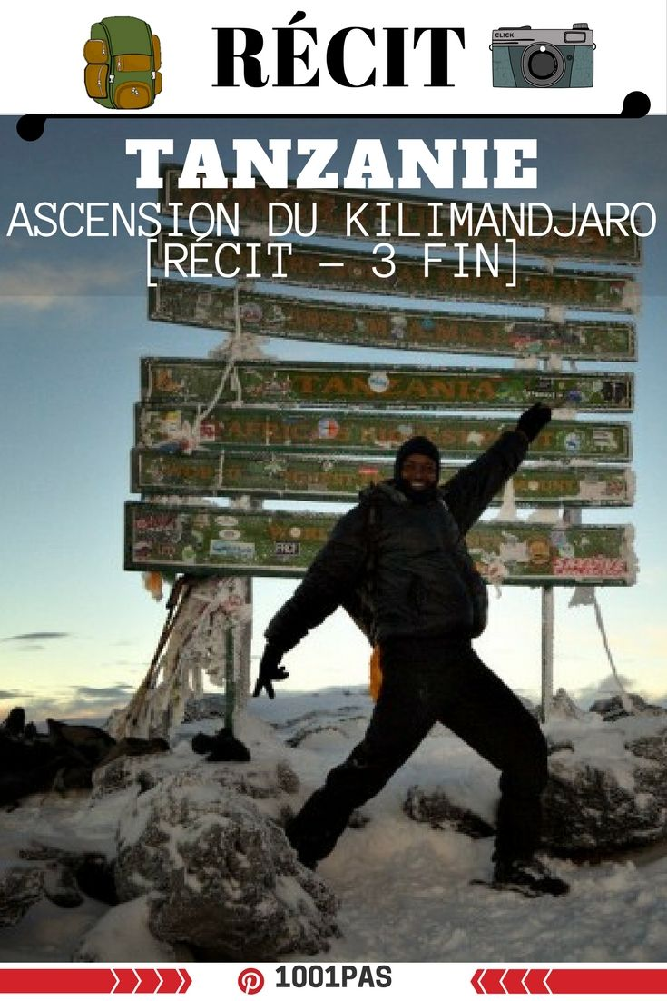 derniere partie du recit de l'ascension du Kilimandjaro. PLus haut sommet d'Afrique en Tanzanie #tanzanie #afrique #kilimandjaro #uruhupeak #somet #outdoor #trek