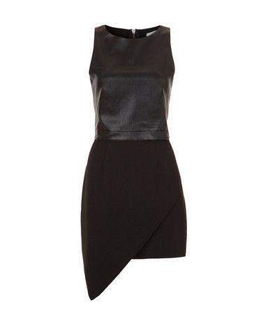 MintyMeetsMunt - Spectacular Dress Black Leather