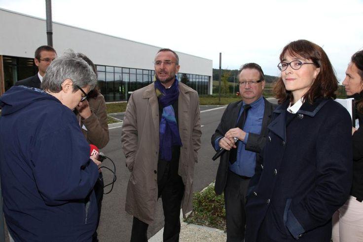 Octobre 2013 : Le plus grand data center en free cooling de France #orange #Normandie #cloud #orange #BigData @MA_Jamet @DelphineErnotte
