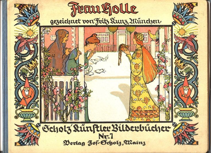 In some Scandinavian traditions, Frau Holle is known as the feminine spirit of the woods and plants, and was honored as the sacred embodiment of the earth and land itself. Frau Holle is mentioned in the story of Goldmary and Pitchmary, as compiled by the Grimm brothers.