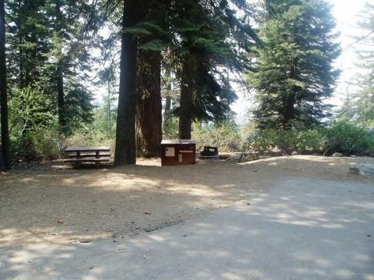 Sunset campground is centrally located in Sequoia and Kings Canyon National Parks in central California's rugged Sierra Nevada range.  This group campground is at an elevation of 6,500 feet. A number of hiking trails begin within walking distance of the campground including the one mile trail to the General Grant Tree.
