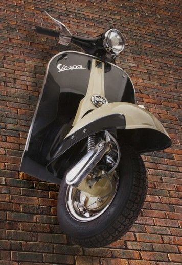 "If the ""project Vespa"" in my driveway doesn't work out…"