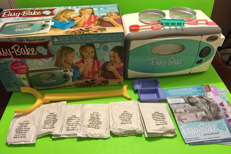 2003 Hasbro Easy Bake Oven Accessories Electric Toy | eBay