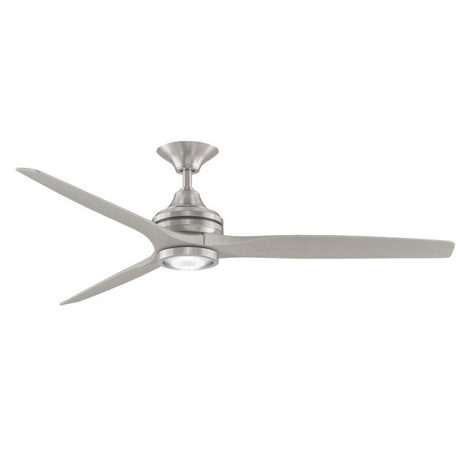 60 Indoor Outdoor Metal And Wood Ceiling Fan With Led Light