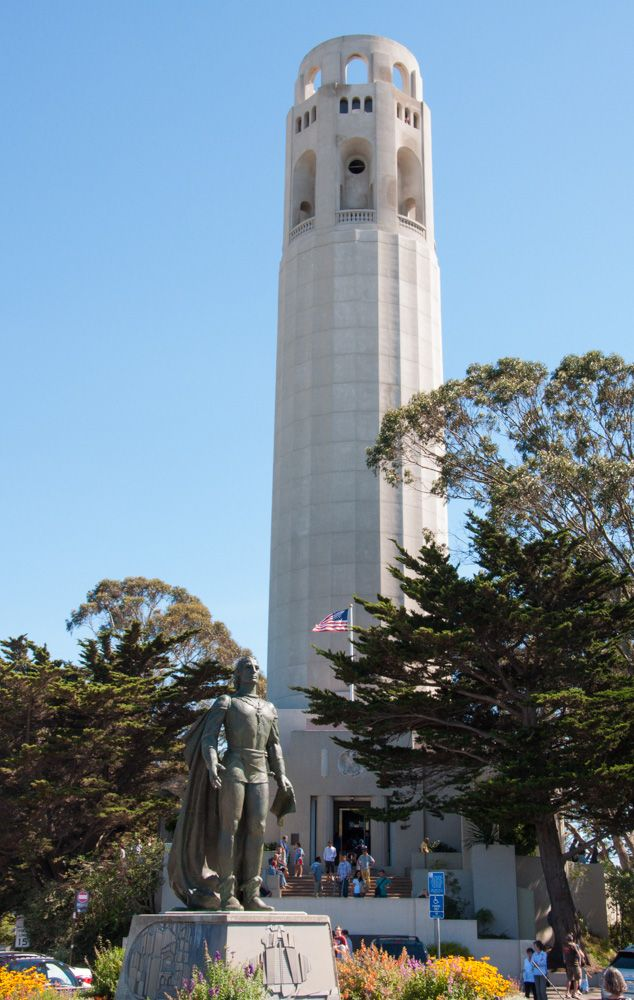 Coit Tower in San Francisco, CA: Hours, Tickets, Address, Map