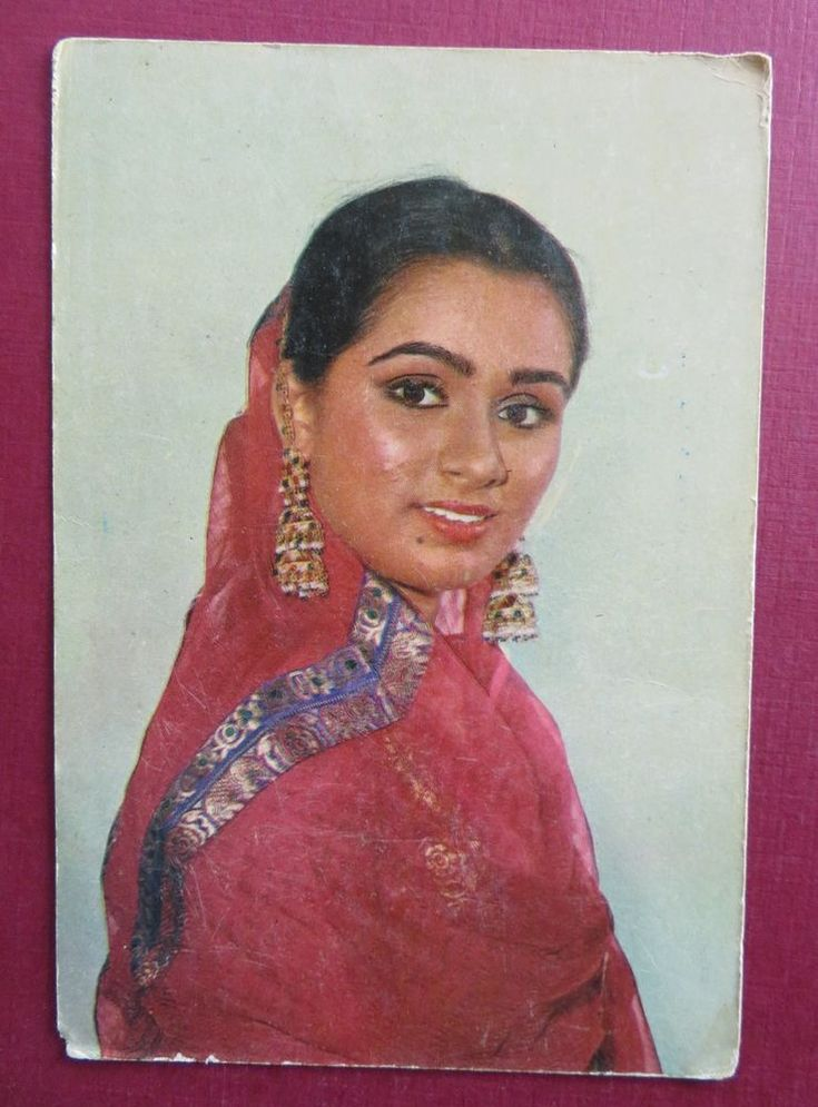 PADMINI KOLHAPURE bollywood actress Picture postcard Collection 15 x 10 cm Old