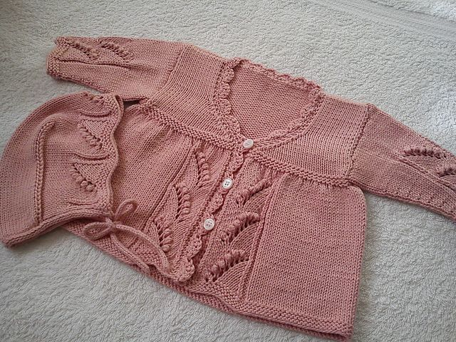 Ravelry: Project Gallery for Matinee Coat and Bonnet pattern by British Hand Knitting Confederation