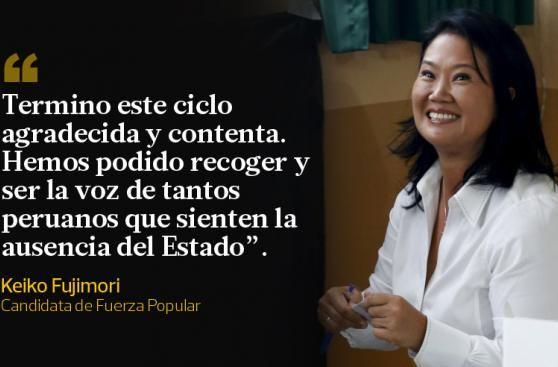 Los candidatos presidenciales dejaron frases a destacar durante las elecciones generales de hoy, en las que mas de 22 millones de peruanos determinarán el futuro del pais. April 10, 2016.
