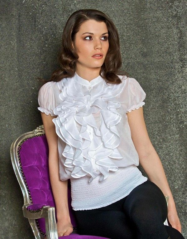 17 best images about chemisiers femme on pinterest coupe short sleeve blouse and swarovski. Black Bedroom Furniture Sets. Home Design Ideas