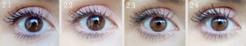 Mascara reviews :: 100 mascaras tested on one eye ::