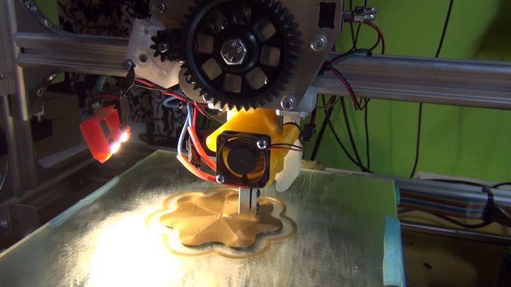 3D Printing (E3D Volcano Hotend)
