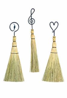Forged Iron Whisk Brooms