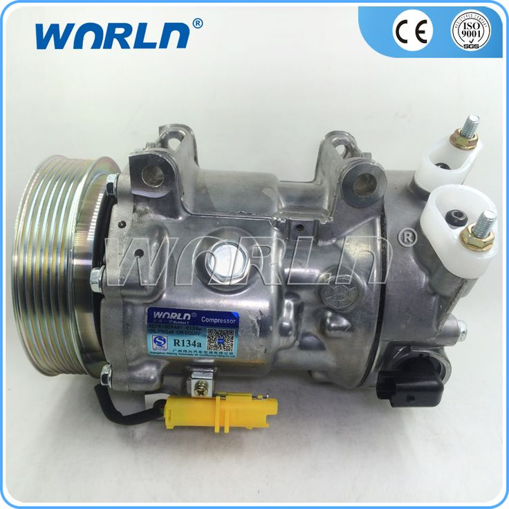 Auto air conditioning compressor clutch 6pk sd6c12 for
