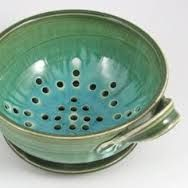pottery colander bowl pictures - Google Search