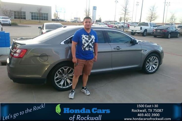 Congratulations Abdiel on your #Ford #Taurus from Art Sanders at Honda Cars of Rockwall!  https://deliverymaxx.com/DealerReviews.aspx?DealerCode=VSDF  #HondaCarsofRockwall