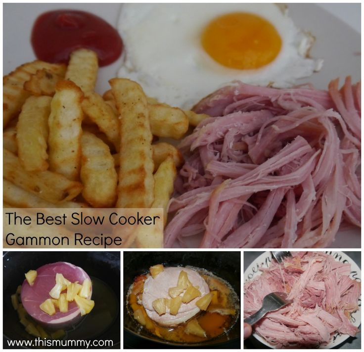 The Best Slow Cooker Gammon Recipe :: This Mummy... @thismummy