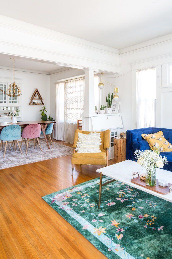 Vintage Meets Modern In Courtney Halverson S La Home Colorful