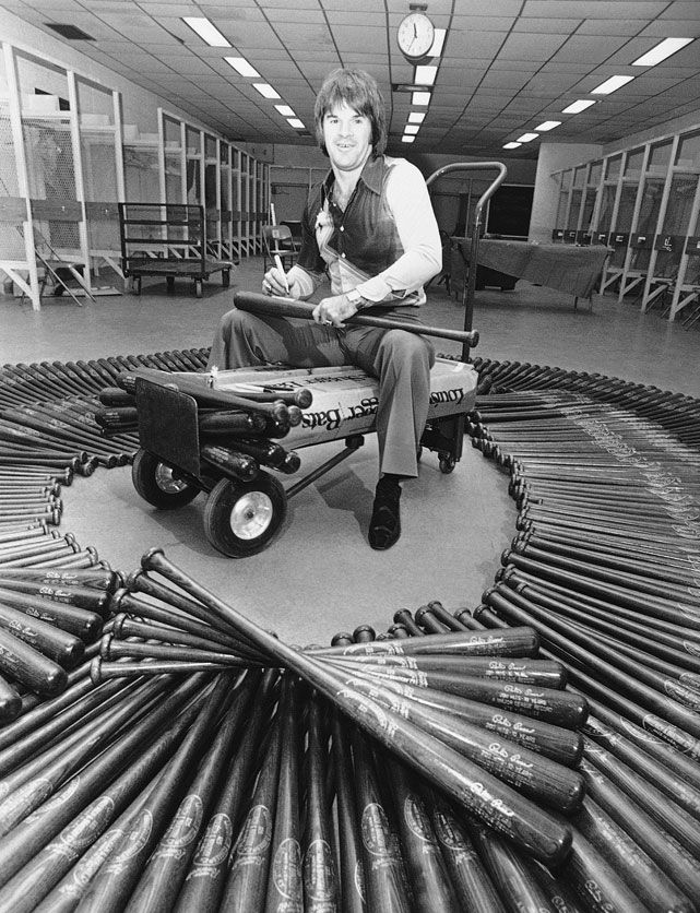 Pete Rose & 1,200 bats, 1980.