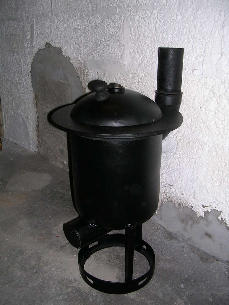 DIY Wood Burner Pot Belly Stove. Made From a Gas Tank - Top 25+ Best Diy Wood Stove Ideas On Pinterest Camping Wood