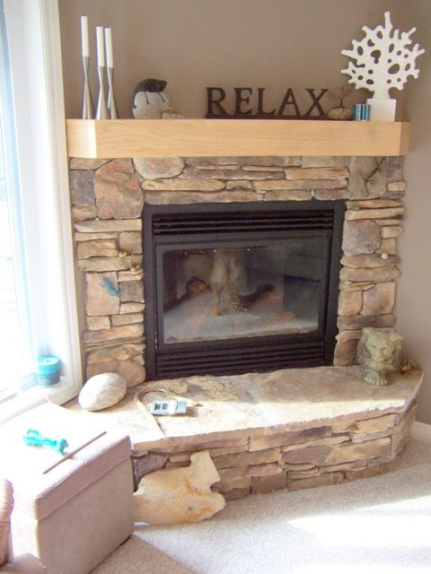 Dry Stack Stone Fireplace Ideas Part - 35: Best 25+ Stacked Stone Fireplaces Ideas On Pinterest | Stacked Rock  Fireplace, Fireplace Mantle And Stone Fireplace Makeover