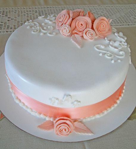 Torta con rosas rústicas   Seguinos en: www.facebook.com/pag…   Flickr
