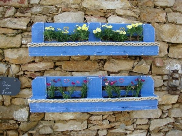20 fioriere da giardino fai da te realizzati con bancali! Lasciatevi ispirare…
