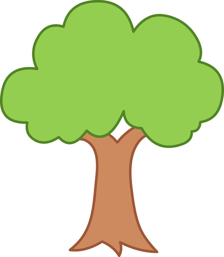 35 Green Tree Clipart