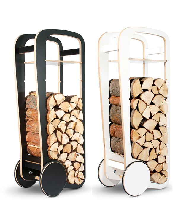 Fleimio Wood Trolley by Tero Jakku, Finland