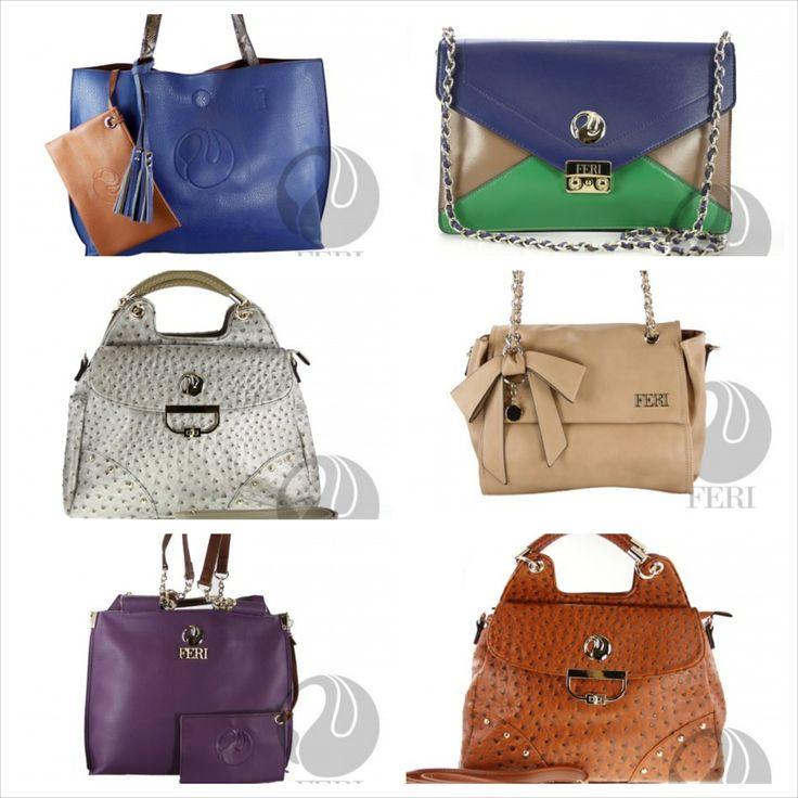 FERI Handbags at www.vipfashion.ca  #fashion #women #jewellery #bags #handbags