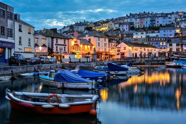 The harbour in the small fishing village of Brixham. It's a popular holiday destination for the Brits and part of the Jurassic Coast. Discovered by Jan Venter at Brixham, United Kingdom