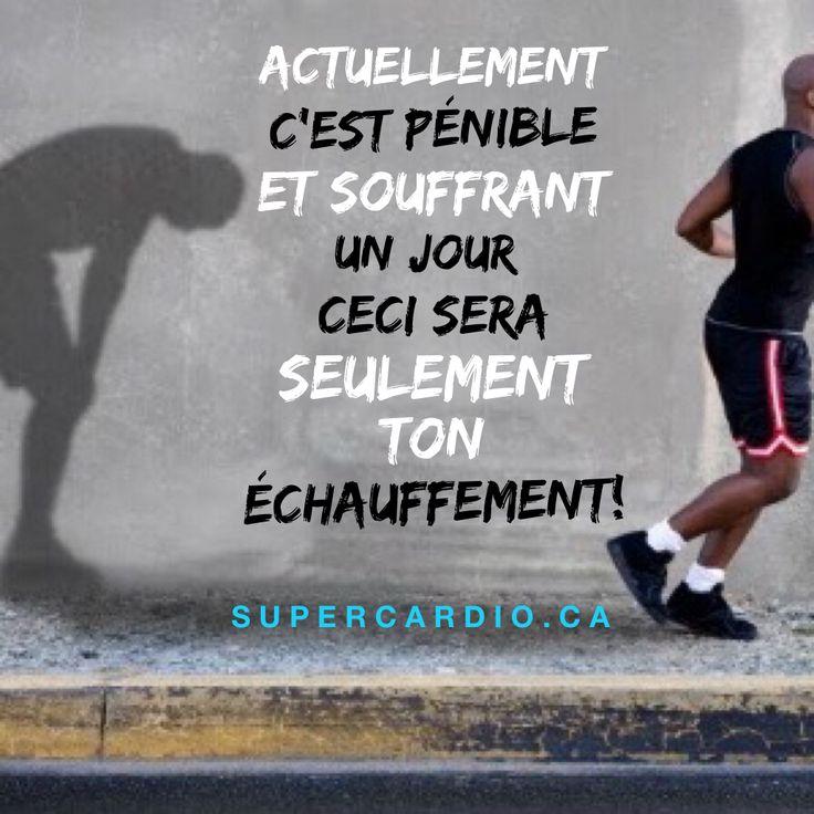 Tu vas t'améliorer! www.supercardio.ca