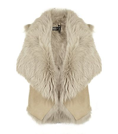 Ralph Lauren Black Label shearling vest                                                                                                                                                                                 More