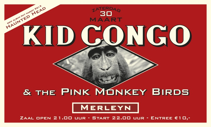 Just for fun: poster for a concert in Doornroosje, Nijmegen, based on a tunafish package.