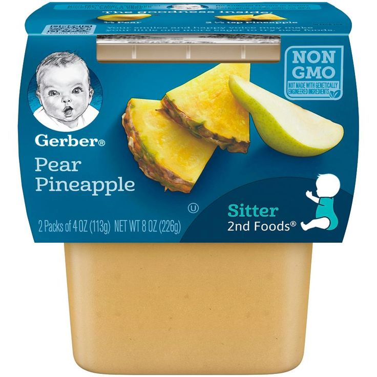 gerber baby food stages 4