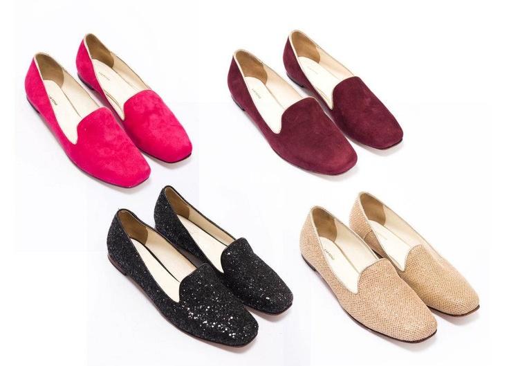 Traverses Dames Louise Chaussures De Ballerine Pois, Couleur Rose, Taille 40