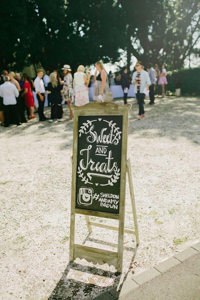 Sweets & treats wedding