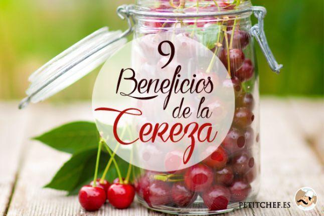 9 Beneficios de la cereza