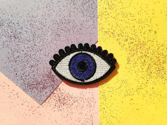 Patch écusson oeil eye