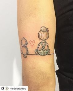 Tatuagem de cachorro   – Tattoo ideen
