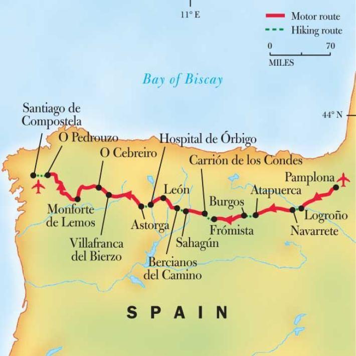 Spain Pilgrimage Walking El Camino De Santiago National