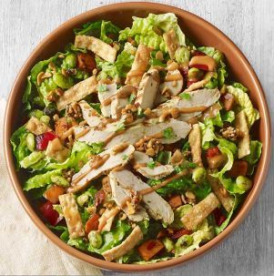 Spicy Thai Salad with Chicken