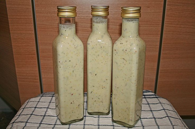 Salatsoße auf Vorrat 1