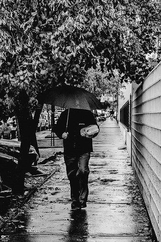 Lluvia y llanto