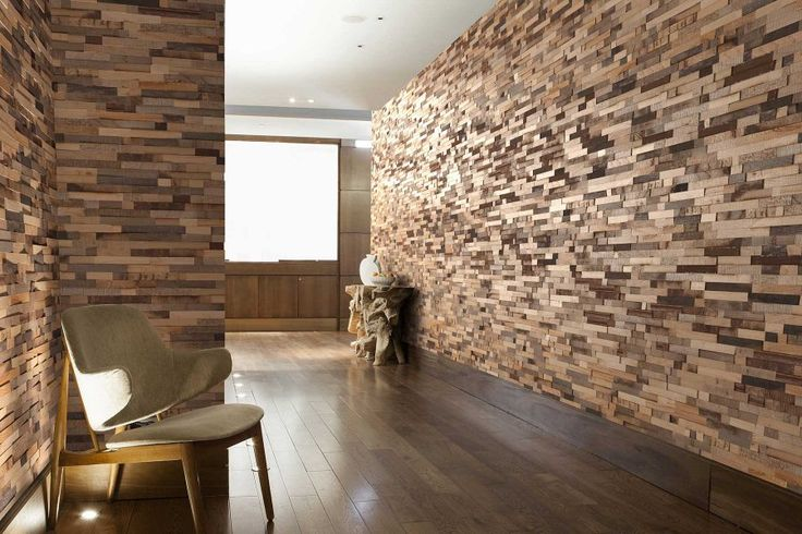 Reclaim from the V4 Wood Wall Panel collection  Create feature walls