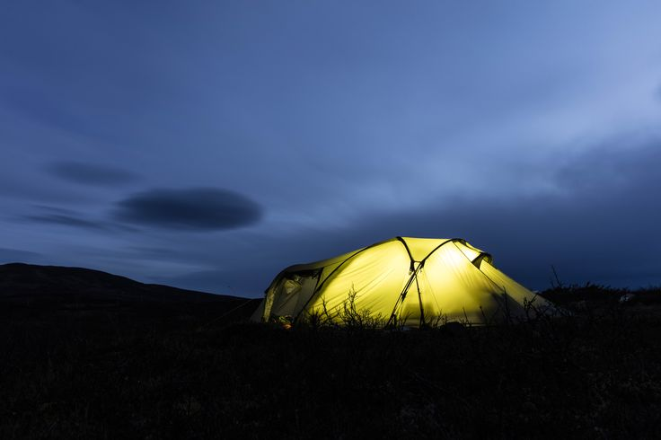Svalbard Pro High Camp A light version of perhaps the world's most experiences expedition tent.   #Helsport #tent #Svalbard #hiking #mountain #adventure
