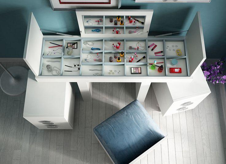 #tocador #vanity #chest Colección de tocadores BELLA by Franco Furniture